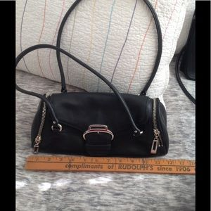 cole haan leather bag like new
